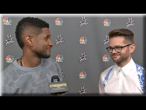 Usher & Josh Kaufman | Usher After The Voice & Why Josh Should Win | The Voice Season 6 Finale Pt. 1