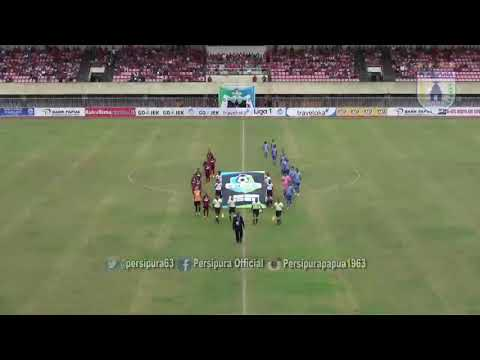 Cuplikan Pertandingan Persipura VS Persiba Balikpapan Gojek Traveloka Liga 1