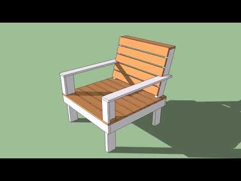 Outdoor Wooden Chair Plans Free
