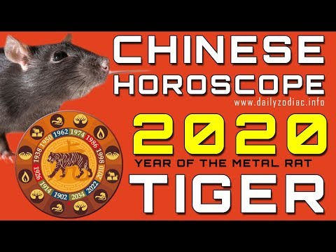 Tiger Horoscope 2020 Chinese Predictions