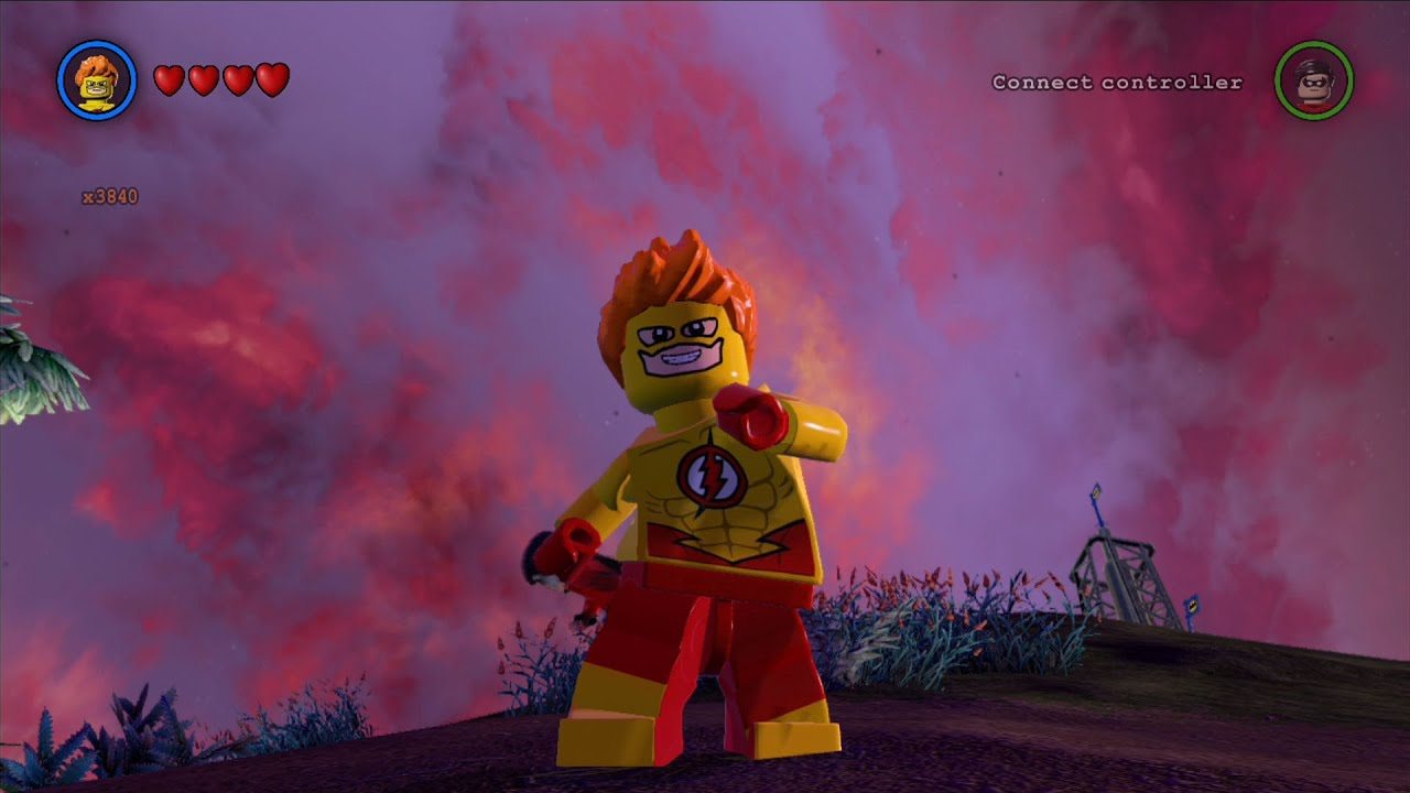 LEGO Batman 3: Beyond Gotham - Kid Flash Free Roam ...