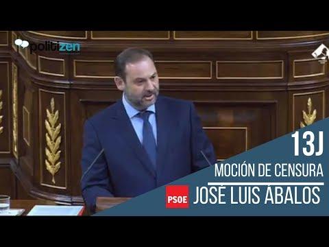 14-06 | INTERVENCIÓN MOCIÓN DE CENSURA JOSÉ LUIS ÁBALOS (PSOE)