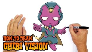 How to Draw Vision | The Avengers