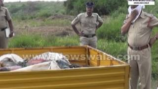 Unknown decomposed dead body found at LB Nagar