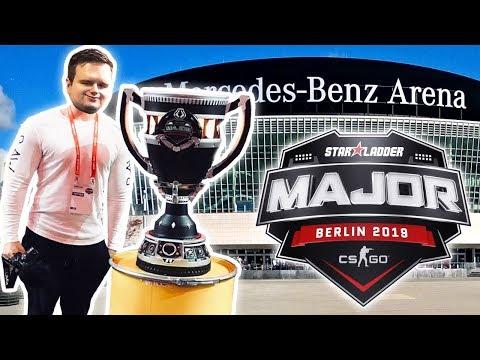 » AUF DIE CS:GO MAJOR MAIN STAGE GESCHLICHEN! 😮 « StarLadder Berlin 2019 Major Vlog