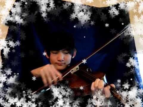 Jingle Bells using a Viola..
