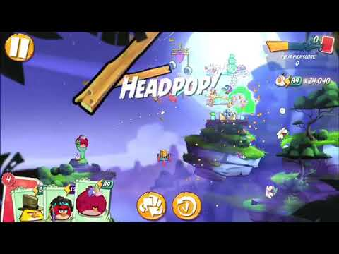 Clan Vs Clan (CvC) ~ Angry Birds 2 (AB2) W/Bubbles ~ 1-24-20 ~ Fly By Knight