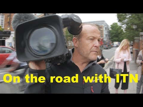 On the road with ITN and ITV News 4K Vlog