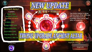 UPGRADING ANCIENT ALTAR|| LEGACY OF DISCORD