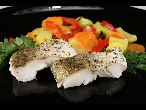 Самый Полезный и Вкусный Ужин! Хек, Запеченный с Овощами - Бесподобное Горячее Блюдо!Можно в Пост!