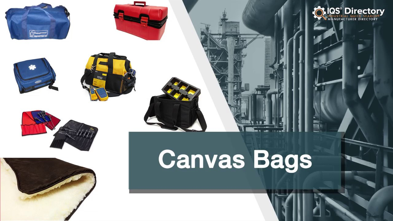 c2477b07b Canvas Bag Manufacturers, Suppliers, and Industry Information - YouTube