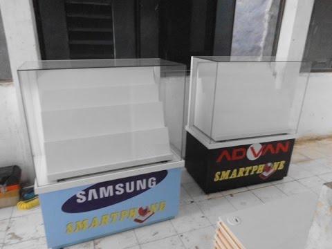 Kiosk Display Counter | Etalase Konter | Furniture Semarang | Etalase HP | Etalase Handphone