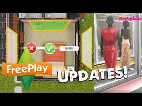 The Sims Freeplay Feature Walls and Chic Boutiques!