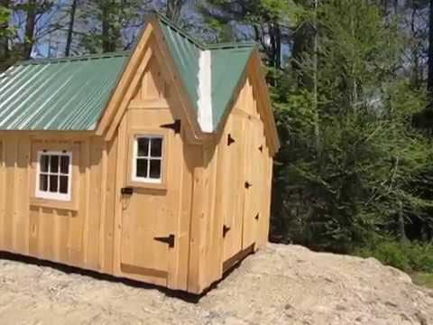 DIY - Build or Buy 10X14 Childrens Playhouse - Tiny House - Cabin (Free Shipping on Pre Cut Kits)