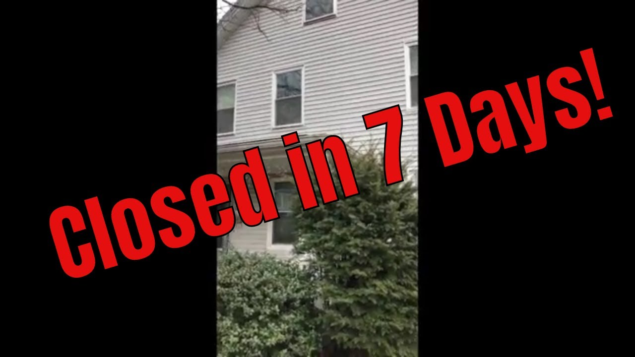 Cottage Street Duplex: FAST Closing!!