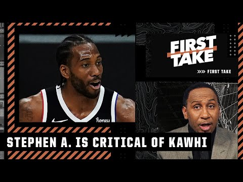 Stephen A. argues that Kawhi cost 2 franchises a championship   First Take