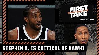 Stephen A. argues that Kawhi cost 2 franchises a championship