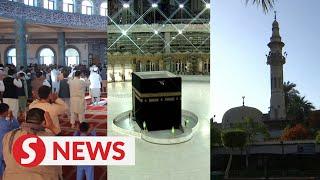 Muslims around the world celebrate Eid