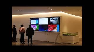 55인치 led모니터 광고did 대형티브 tv 3x2 …