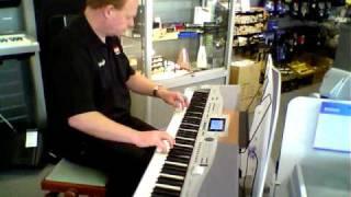 Winchester SP5500 Digital Piano Demo
