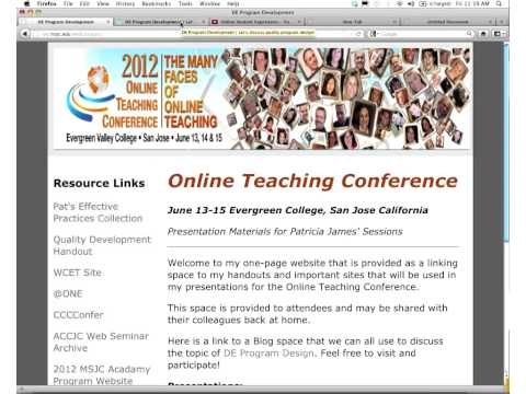 OTC12 - From One to Many - Tales of Quality Online Program Development