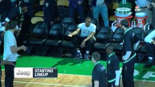 Boston Celtics pre-game intros (2015.12.11)