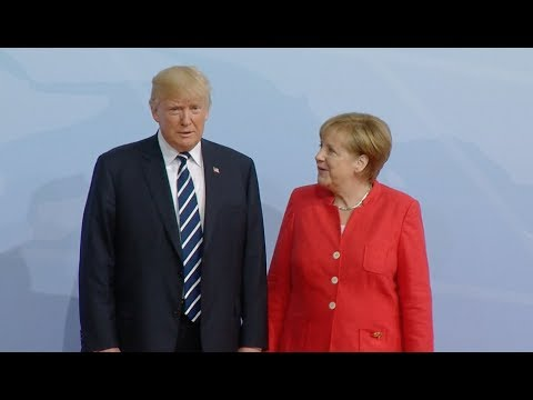 World Leaders Arrive for G20 Hamburg Summit