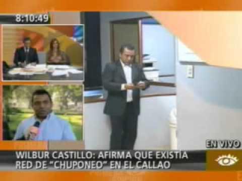 Wilbur Castillo en entrevista con América Noticias Primera Edicion sobre chuponeo en el Callao