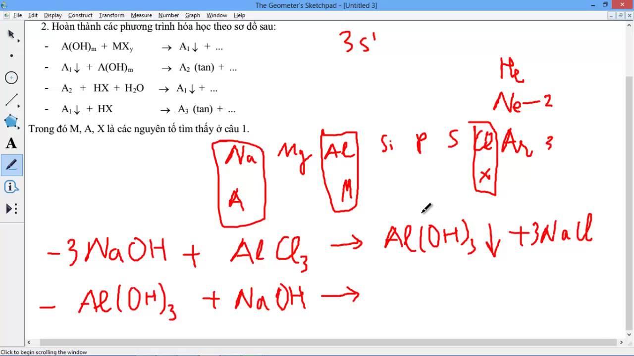 [HÓA HỌC 10 NC] Chương 2 – [BÀI TẬP] 9 [Hay] Bài 2.23 2.24 Bài toán hay và phương trình đẹp