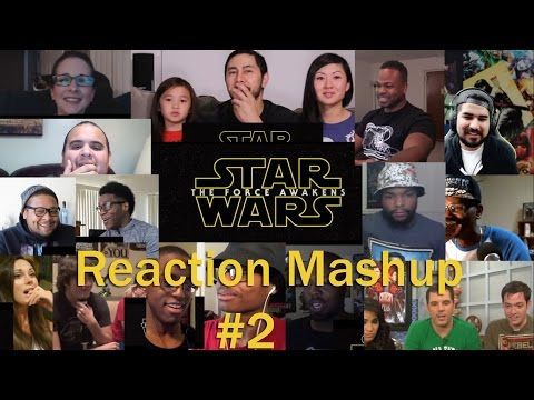 Star Wars  The Force Awakens Official Trailer #3. REACTION MASHUP Part  2