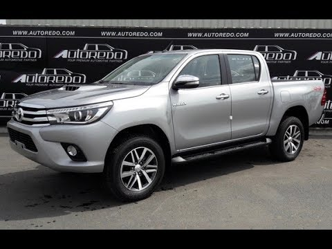 2016 2018 toyota hilux revo full option a full detail. Black Bedroom Furniture Sets. Home Design Ideas