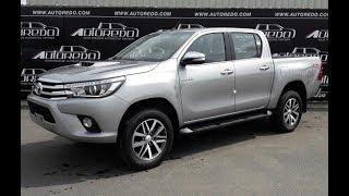2016-2018 Toyota Hilux Revo Full Option | A Full Detail Start Up Review