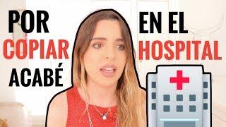 STORY TIME - ACABÉ EN EL HOSPITAL POR COPIAR EN UN EXAMEN | Elena Ponz