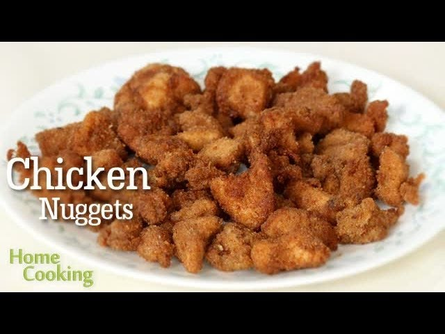 Crunchy Chicken Nuggets Recipe Ventuno Home Cooking