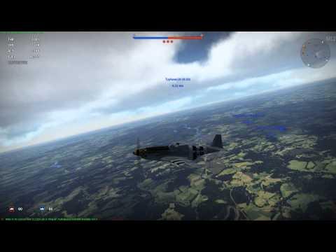 War Thunder - P-51-D Mustang - Machinegun Kelly