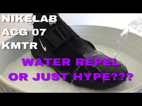 WATER REPELLENT OR JUST HYPE? NIKELAB ACG 07 KMTR  VS JASON MARKK REPEL