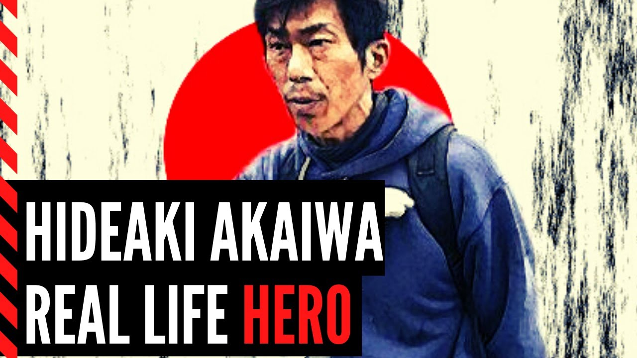 Hideaki Akaiwa The Story Of A Real Hero In A Sunken Deathly City