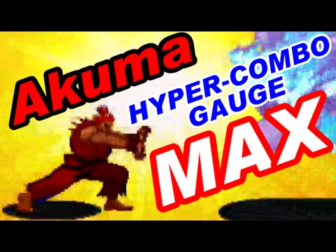 MAX Gouki(Akuma) - X-MEN VS. STREET FIGHTER [GV-VCBOX,GV-SDREC]