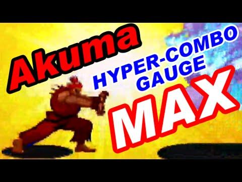 MAX Gouki(Akuma) - X-MEN VS. STREET FIGHTER [GV-VCBOX,GV-SDREC]