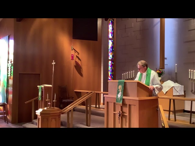 7th Sunday after Pentecost, Good Shepherd Lutheran Church, LC-MS, Two Rivers, WI, Rev. William Kilps