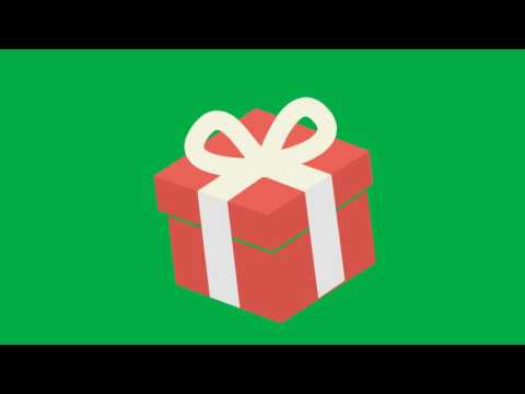 Animated gift box green screen youtube animated gift box green screen negle Image collections