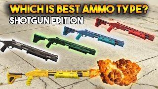 GTA 5 ONLINE : WHICH IS BEST AMMO TYPE? (SHOTGUN EDITION)