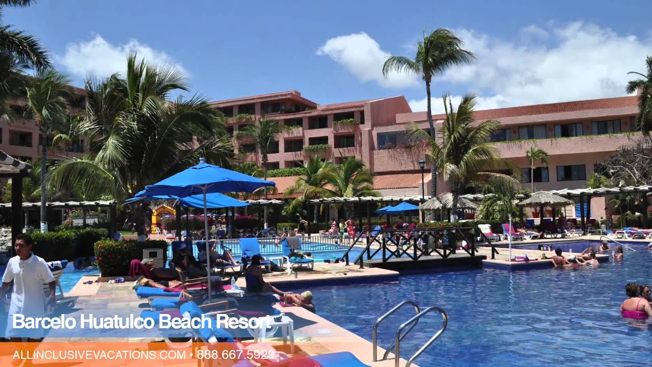 Inside The Barcelo Huatulco Beach Resort In Mexico