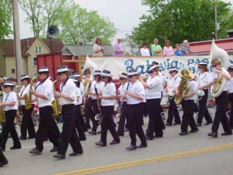 The Pride of Akron NY 2007 Middle School Marching Band