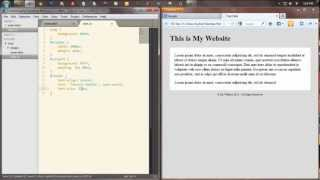 Speed Clip of Sublime Text 2 (HTML & CSS)
