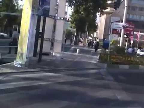 VALI ASR, IRAN TEHRAN VALI ASR, MIRDAMAD, STREETS ,3D FILM   ایران  تهران  ولی عصر  میرداماد