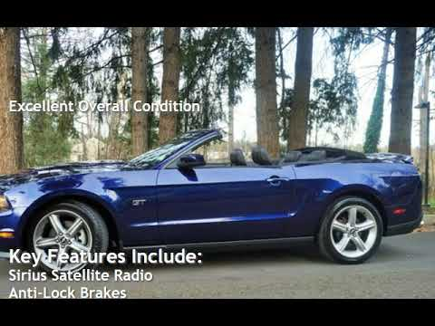 2010 Ford Mustang GT Premium V8 5 Speed Manual Navigation Leather for sale in Milwaukie, OR