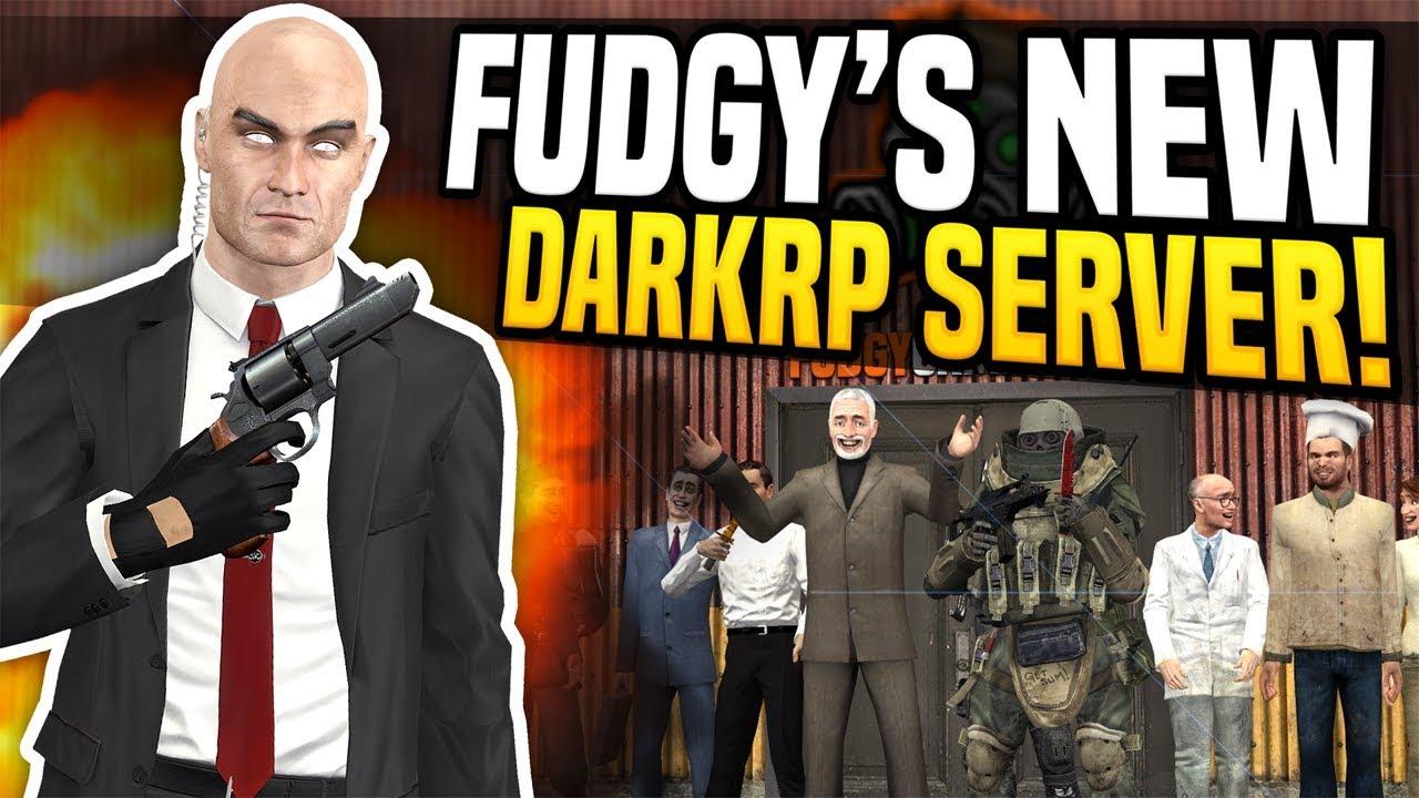 Best Gmod Darkrp Servers 2019 FUDGY'S NEW DARKRP SERVER   Gmod DarkRP   Becoming A Hitman!   YouTube