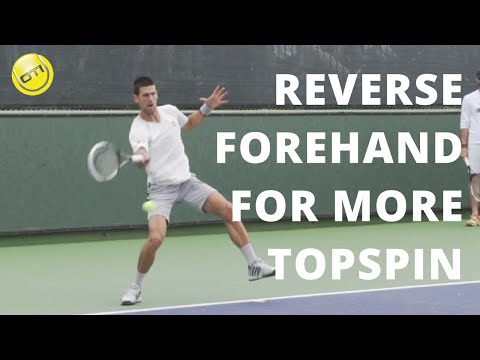 Reverse Forehand For More Topspin