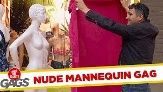 Covering Up A Nude Mannequin